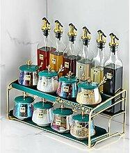 Spice Box Set Haushalt Kombination Glas