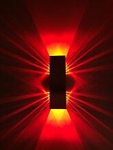 SpiceLED Wandleuchte | ShineLED-6 | 2x3W Rot |