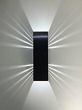 SpiceLED Wandleuchte | ShineLED-6 Black Edition |