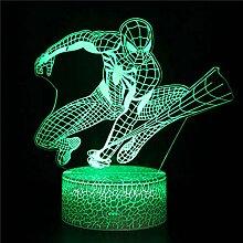 Spider Man Led Deko Lampe Baby Nachtlicht