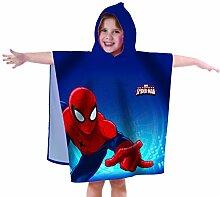 Spiderman 042484 Badeponcho Ultimate, Baumwolle