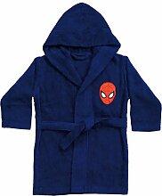 Spiderman Bademantel, Blau