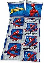 Spiderman Bettwäsche 135 x 200 cm Marvel Wende