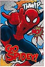 Spiderman Fleece Blanket–Couverture