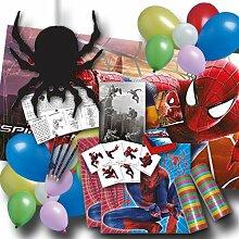 Spiderman Kindergeburtstag Dekose