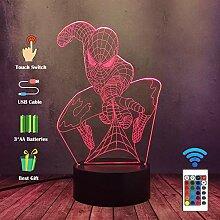Spiderman Light für Kid Marvel Venom Shooter Die