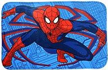 Spiderman Teppich Memory Foam 38X58, Mehrfarbig,