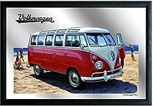 Spiegel 20x30 cm - VW Bulli - erstklassiger