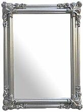Spiegel 'Orient Silber 90x70' Wandspiegel Rechteckig 90x70cm