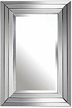 Spiegel 'Prisma' Wandspiegel Rechteckig 120x80cm