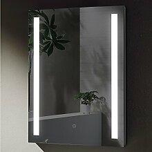 Spiegel 50x70cm LED Beleuchtung Wandspiegel