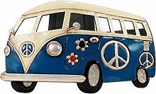 Spiegel Blau Combi Peace und Love