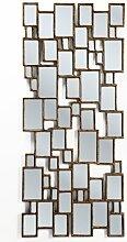 Spiegel Cubes Copper, großer, moderner