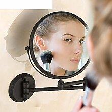 Spiegel/der Spiegel/Spiegel hochklappen/Kosmetikspiegel/Double Zoom Dusche Spiegel