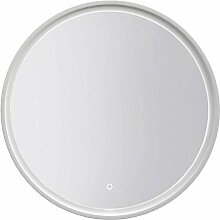 Spiegel Dhule 13, Farbe: Weiß - 80 x 80 cm (H x B)