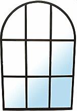 Spiegel Fenster schwarz