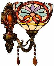 Spiegel-Front-Lampe Classic Retro Garten Kristall