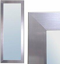 Spiegel GINOS 180x70cm Glanz-Silber Design Rahmen Wandspiegel