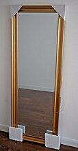 Spiegel gold 185x70 cm Holzrahmen 70x185 cm Holz barock antik Wandspiegel