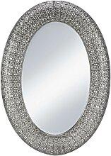 Spiegel in Silber antik ca. 65/92/4,5 cm