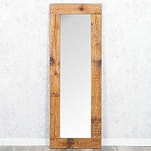 Spiegel INDO 140x50cm Natural Erosi Massivholzrahmen Recycled Wood Wandspiegel