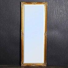 Spiegel LEANDRA 150x60cm gold Barock Wandpsiegel