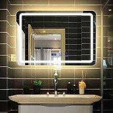 Spiegel LED-Badspiegel für die Wandmontage,