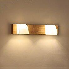 Spiegel-Licht, japanische Art-hölzerne