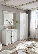 Spiegel mit               Spiegel Pinie Weiß