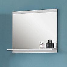 Spiegel mit Ablage 60 cm Badezimmerspiegel