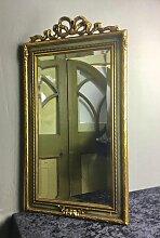 Spiegel mit geschnitztem Holzrahmen von Deknudt,