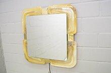 Spiegel mit Hintergrundbeleuchtung & Rahmen aus