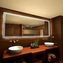 Spiegel mit Lichtrahmen Playgro - B 600mm x H 800mm - neutralweiss