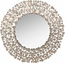 Spiegel mit Metallrahmen D.73