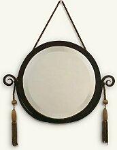 Spiegel mit Rahmen aus Eisen, 1920er