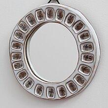 Spiegel mit Rahmen aus Keramik, 1970er