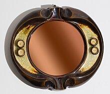 Spiegel mit Rahmen aus Keramik vom Künstler Gyula