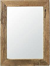 Spiegel mit Rahmen aus Recycling-Holz 90x120
