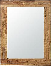 Spiegel mit Rahmen aus Recycling-Holz 91x120