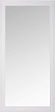 Spiegel mit Rahmen aus weißem Paulownienholz