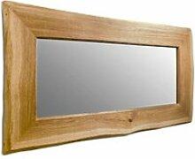 Spiegel mit Rahmen aus Wildeiche UNIKAT