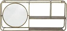 Spiegel mit Regalen Rombly