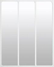 Spiegel mit weißem Metallrahmen, 96x120
