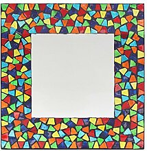 Spiegel Mosaik Quadratisch multigloss