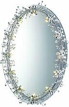 Spiegel oval 12Lichter
