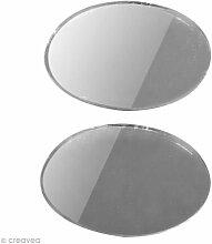 Spiegel oval 26x 17mm x 45