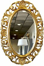 Spiegel oval gold