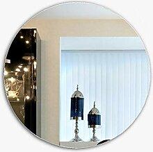 Spiegel Runder Badezimmerspiegel, wandmontierter,
