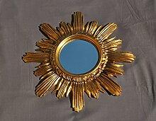 Spiegel Sonne gold Spiegel Gold Möbel Barock Fake Vintage 42cm Durchmesser