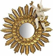 Spiegel Sonne gold